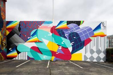 Muro, POW! WOW! Street Art Festival 2017, NoMa, Washington D.C. Photo Credit POW! WOW!
