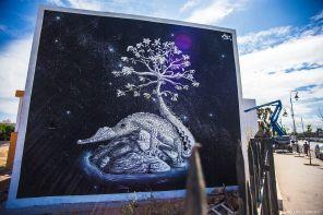 Nitti, Jidar Street Art Festival, Rabat 2017