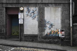 Jaune, Nuart Aberdeen Street Art Festival 2017. Photo Credit Ian Cox