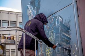 Nimi, Nuart Art City Street Art Programme. Photo Credit Brian Tallman 2017