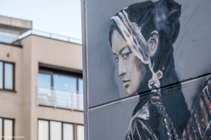 Nimi, Nuart Art City Street Art Programme. Photo Credit Brian Tallman 2017