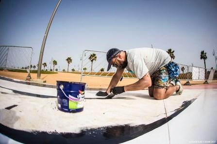 Antonyo Marest, Skatepark, Jidar Street Art Festival, Rabat 2017