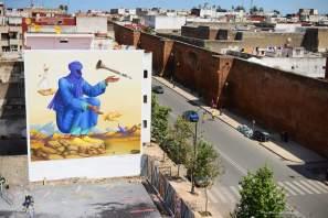 Waone, Jidar Street Art Festival, Rabat 2017