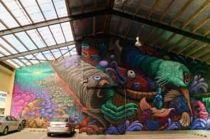 Botkin, Seawalls: Artists for Oceans, Napier, NZ. Photo Credit Miyuki McGuffie