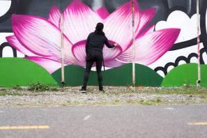 Chelove, POW! WOW! Street Art Festival 2017, NoMa, Washington D.C. Photo Credit POW! WOW!