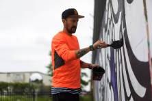 Mas Paz, POW! WOW! Street Art Festival 2017, NoMa, Washington D.C. Photo Credit POW! WOW!