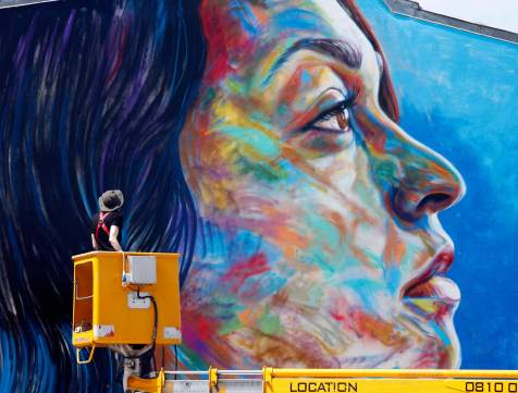 David Walker, Wall Street Art, Lieusaint, Paris. Photo Credit Mathgoth gallery