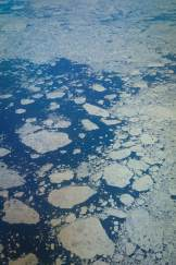 Aerial sea ice. Photo Credit Tré Packard