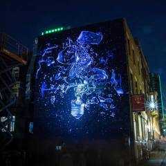 onur, Mural International Public Street Art Festival, Montreal, Canada 2017. Photo credit Instagrafite