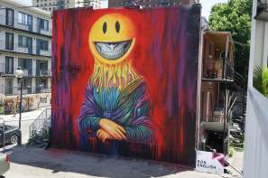 Ron English, Mural International Public Street Art Festival, Montreal, Canada 2017. Photo credit @halopigg