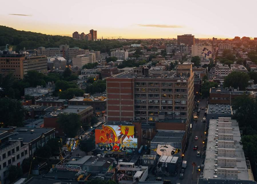 Mural International Public Street Art Festival, Montreal, Canada 2017. Photo credit Julien Gagnon