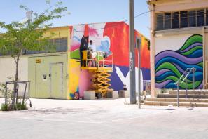 POW!WOW! Street Art Road Trip, Israel 2017. Photo Credit Jasper Wong.