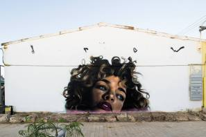 POW!WOW! Street Art Road Trip, Israel 2017. Photo Credit Jasper Wong.
