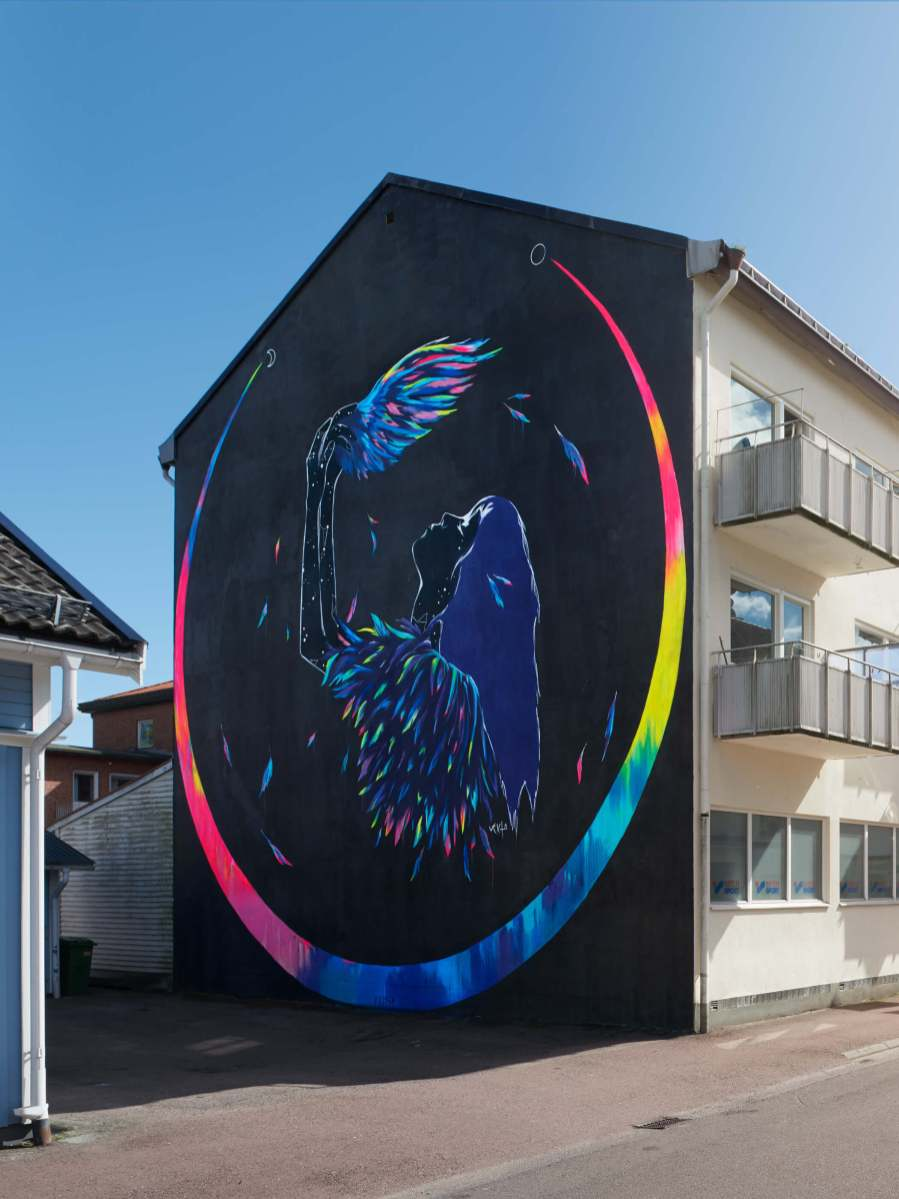 Vexta, Artscape Street Art Festival, White Moose Project, Sweden 2017.