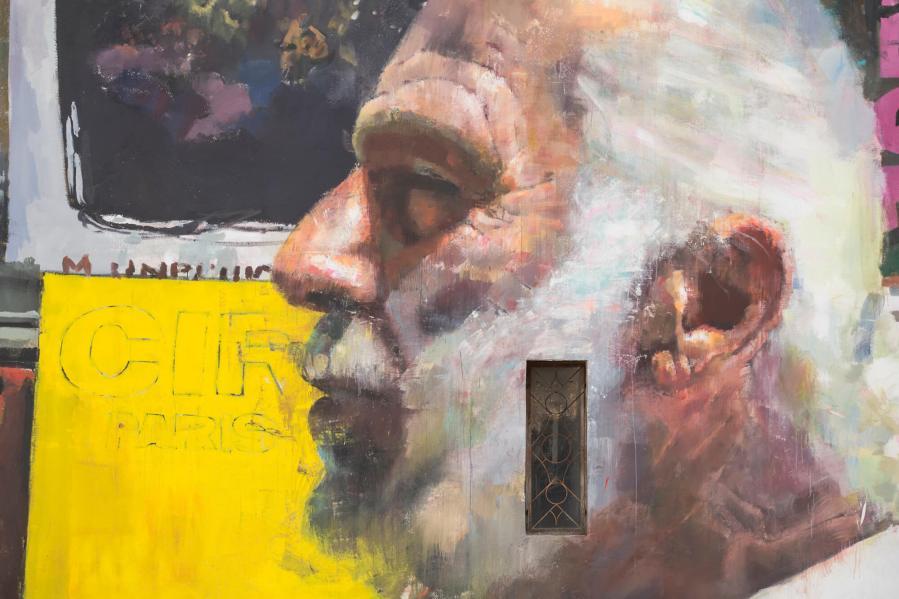 Sebas Velasco, FestiWall Street Art Festival, Ragusa, Sicily 2017. Photo Credit Marcello Bocchieri