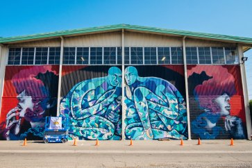 Wide Open Walls, Street Art festival, Sacramento 2017. Photo Credit WOW916