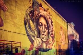 Nomad Clan, Lodz 4 Cultures, Urban Art Festival 2017. Photo Credit Agnieszka Kuraszewska