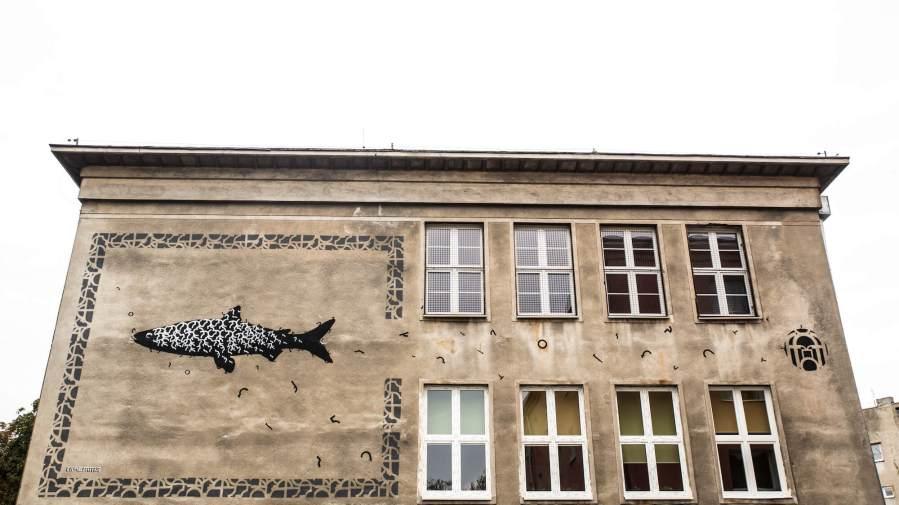 Opiemme, Lodz 4 Cultures, Urban Art Festival 2017. Photo Credit HaWa
