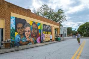 Herbert Scott Davis, SHINE st Petersburg Street Art Festival, Florida 2017. Photo Credit Iryna kanishcheva