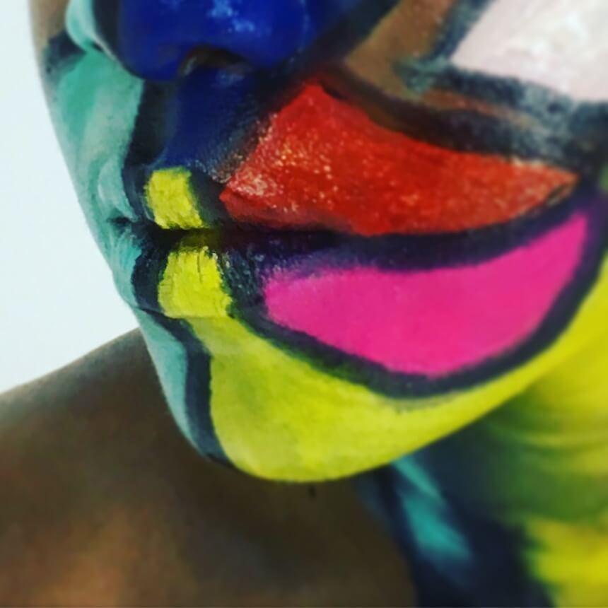 Hunto, Body Painting Art. London 2017. Photo Credit Hunto