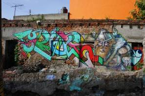 Mexico's Graffiti 2017. Photo Credit FredBombingscience