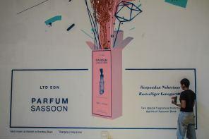 start-street-art-festival-mumbai-india-Sameer-Kulavoor-Parfum-Sassoon-Showroom-pc-Pranav-Gohil