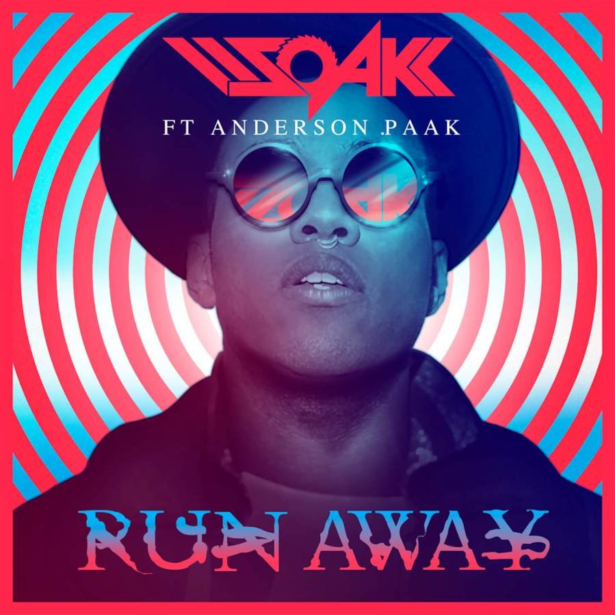 'Run Away', DJ SOAK x Felipe Pantone, accompanied by Anderson .Paak, 2018