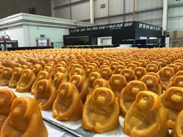 Lush Orangutan Soap, Ernest Zacharevic, Save Our Souls Project SOS, Palm Oil Plantation, Sumatran. Photo Credit SOS / Lush