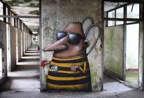 A Guard, Ador, Street Art Réunion. Photo credit Ador 2018