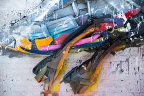 Bordalo II, Trash Seagull, Fatboy Slim's Big Beach Cafe, Hove 2018. © Graffitistreet.com