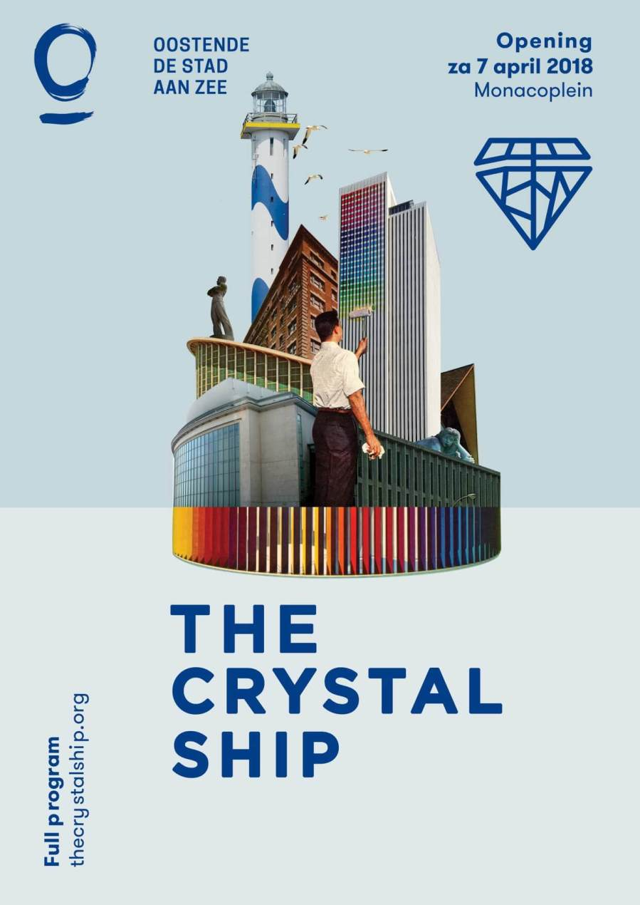 The crystal Ship, Ostend, Belgium 2018