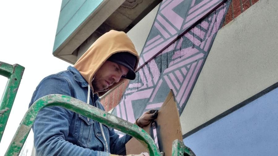 Chris Zidek, Nashville Walls Project 2018.