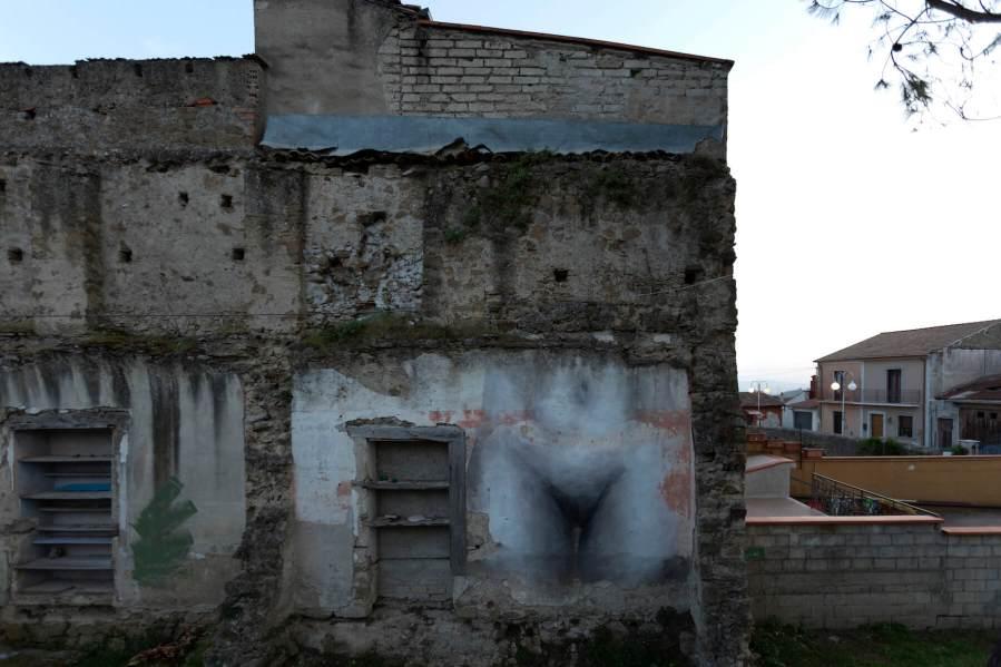 "Francisco Bosoletti, ""Genesis"", Impronte Project, Italy 2018. Photo Credit Antonio Sena"
