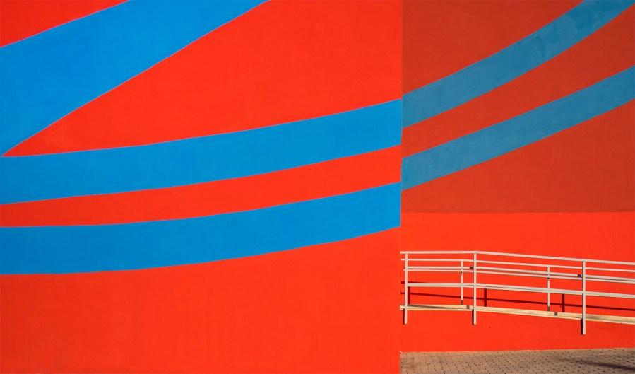 Elian, Street Art mural, Polytechnic University, Valencia, Spain 2018. Photo Credit Elian Chali