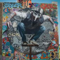 Kollabo Wand, Berlin Mural Fest 2018. Photo Credit Berlin Mural Fest
