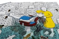 Millo, Berlin Mural Fest 2018. Photo Credit Berlin Mural Fest