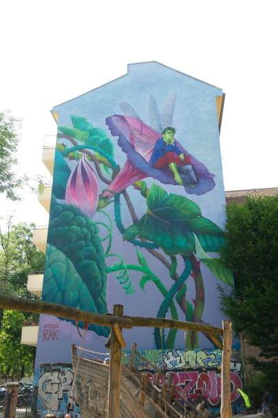 Natalia-Rak, Berlin Mural Fest 2018. Photo Credit Berlin Mural Fest