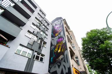 Size two, Berlin Mural Fest 2018. Photo Credit Berlin Mural Fest