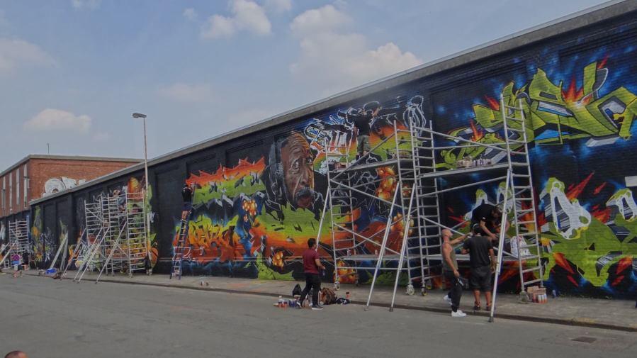 Meeting of Styles, Street Art Antwerp, Belgium