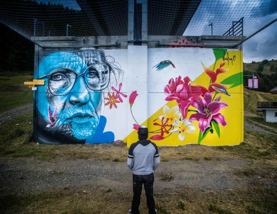 Abraham Osorio, Vision Art Festival 2018. Photo Credit Instagrafite