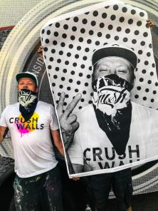 JR Inside Out Project, Crush Walls, RiNo Arts District, Denver 2018. Photo Credit Crush Walls