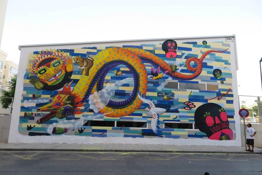 SPAIK-BLOOP-STREET-ART-Festival-2018-Ibiza-Open-Air-Gallery-4