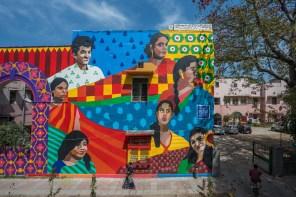 Aravani Art Project, Lodhi Art Festival, Delhi 2019. Photo credit Pranav Gohil