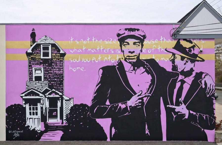 Loic Ercolessi, Mamaroneck Historical Murals 2019