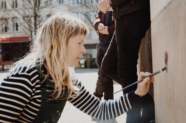Helen Bur, The Crystal Ship, Oostende 2019. Photo credit Alex Stanhope / GraffitiStreet