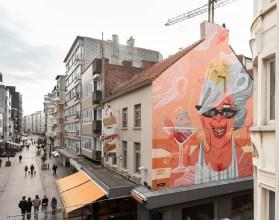 Marina Capdevila, The Crystal Ship Street Art Festival, Ostend, Belgium 2019. Photo Credit