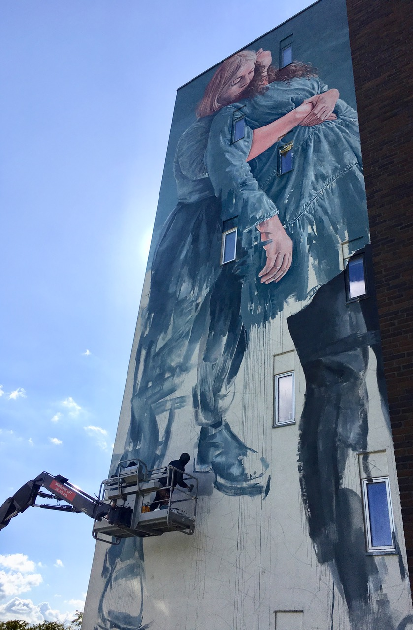 "Fintan Magee,""Out in the Open"", Aalborg 2019. Photo Credit Kirk gallery"