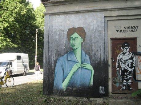 Stencibility-Festival-Street-art-TARTU-Estonia-2019-Bisser_The_Green_Lady