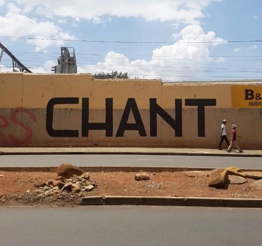 'CHANT'. Photo credit Faith XLVII