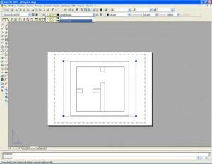 Autocad : Rendere non stampabili i riquadri dei layout di stampa